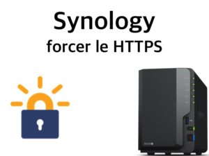 synology forcer https